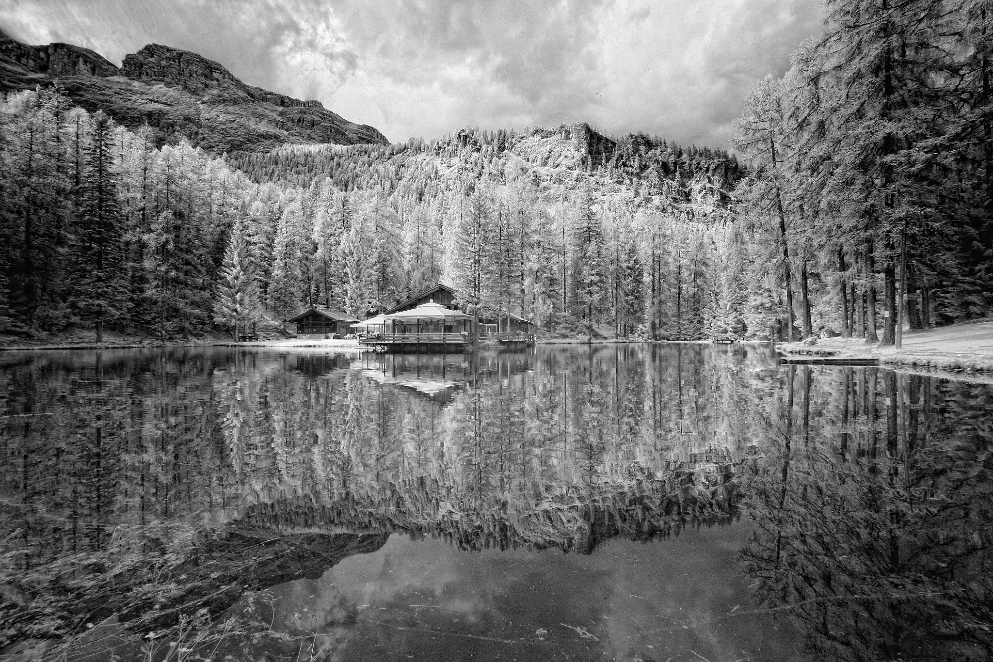 Photograph dolomiti ir by lorenzo savinelli on 500px