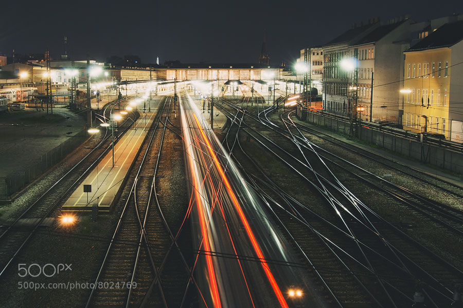 Photograph Lighttrails - Lichtspuren by Vivid Camera on 500px