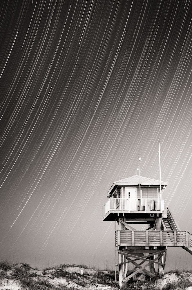 Photograph Lifeguard Tower by Dustin Soehnel on 500px