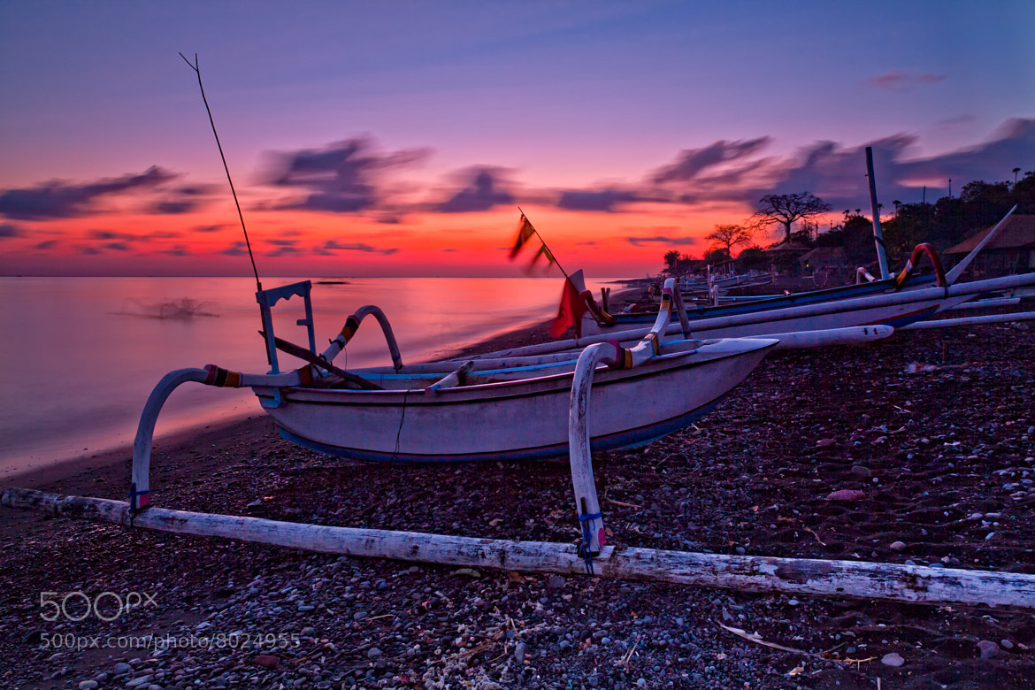 Photograph Sunrise at Amed by Helminadia Ranford on 500px
