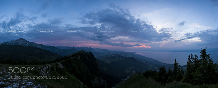 Photograph Panorama Pic des Mémises by Wassabi Photos on 500px