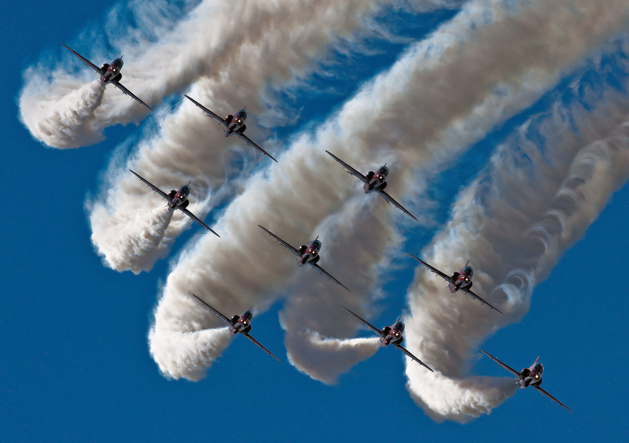 Photograph Red Arrows by Pascal van Uffelen on 500px