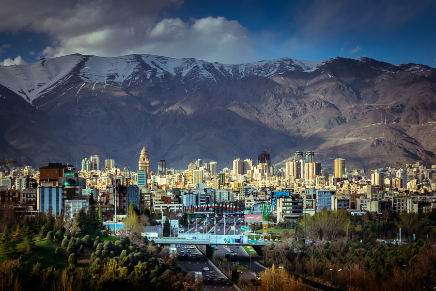 Tehran by Amin Jafarian on 500px.com