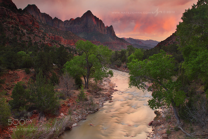 Photograph Sunset and the Watchman by Nate Zeman | natezeman.com on 500px