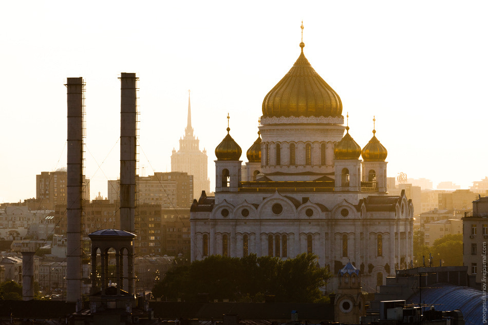 Photograph Sunset in Moscow by George Sultanov on 500px