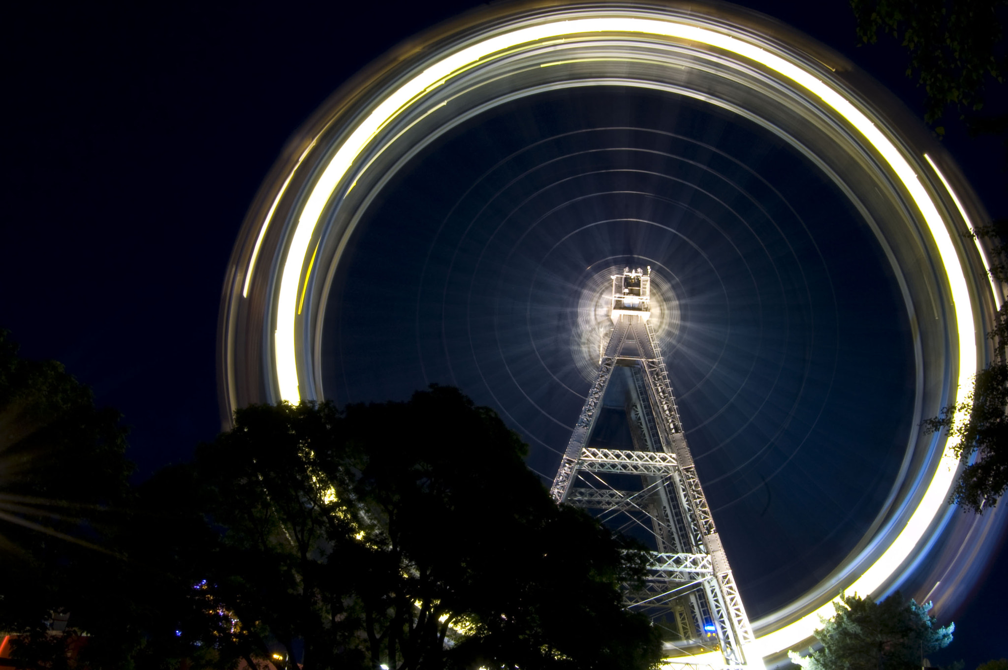 Photograph Wheel of Light by Adam Cain on 500px