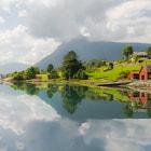 Magic moment in Sognefjorden
