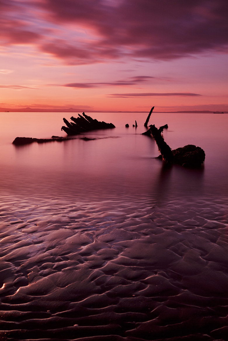 Photograph Longniddry at sunset by Rich Dyson on 500px