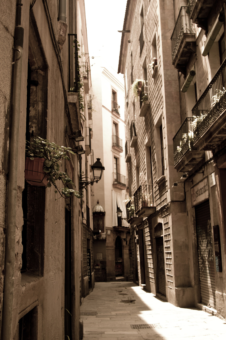 Photograph Barcelona Alley by Pedro Sttau on 500px