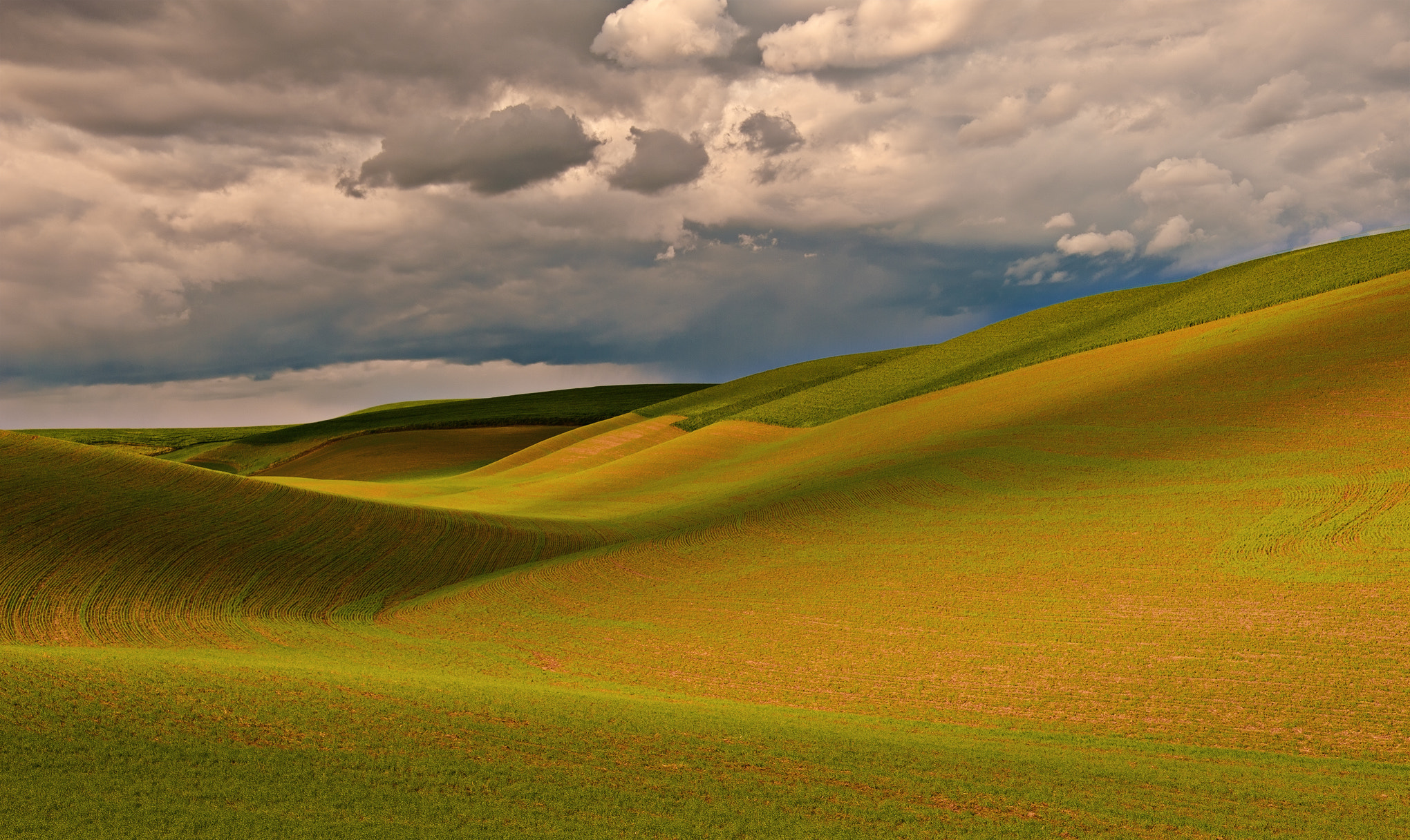 Photograph Glaciers, Clouds and Sun: Sculpture on the Palouse by Alvin Kroon on 500px