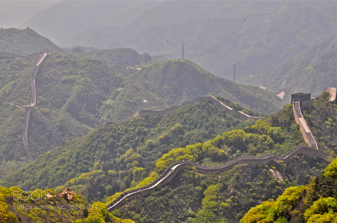 Photograph Badaling Great Wall, Beijing by Poh Huay Suen on 500px