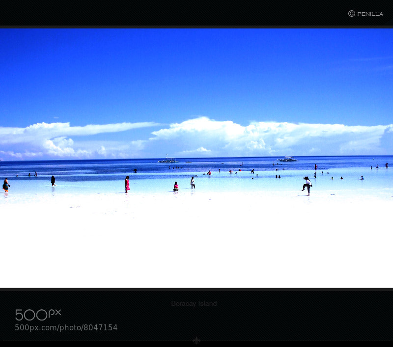Photograph Blue Summer by Christian Penilla on 500px