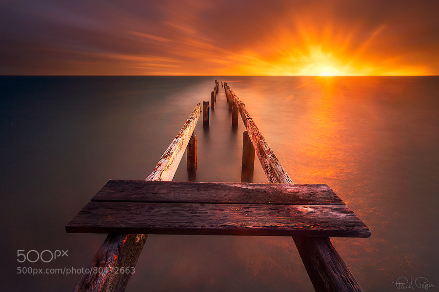 The old jetty by Pawel Papis