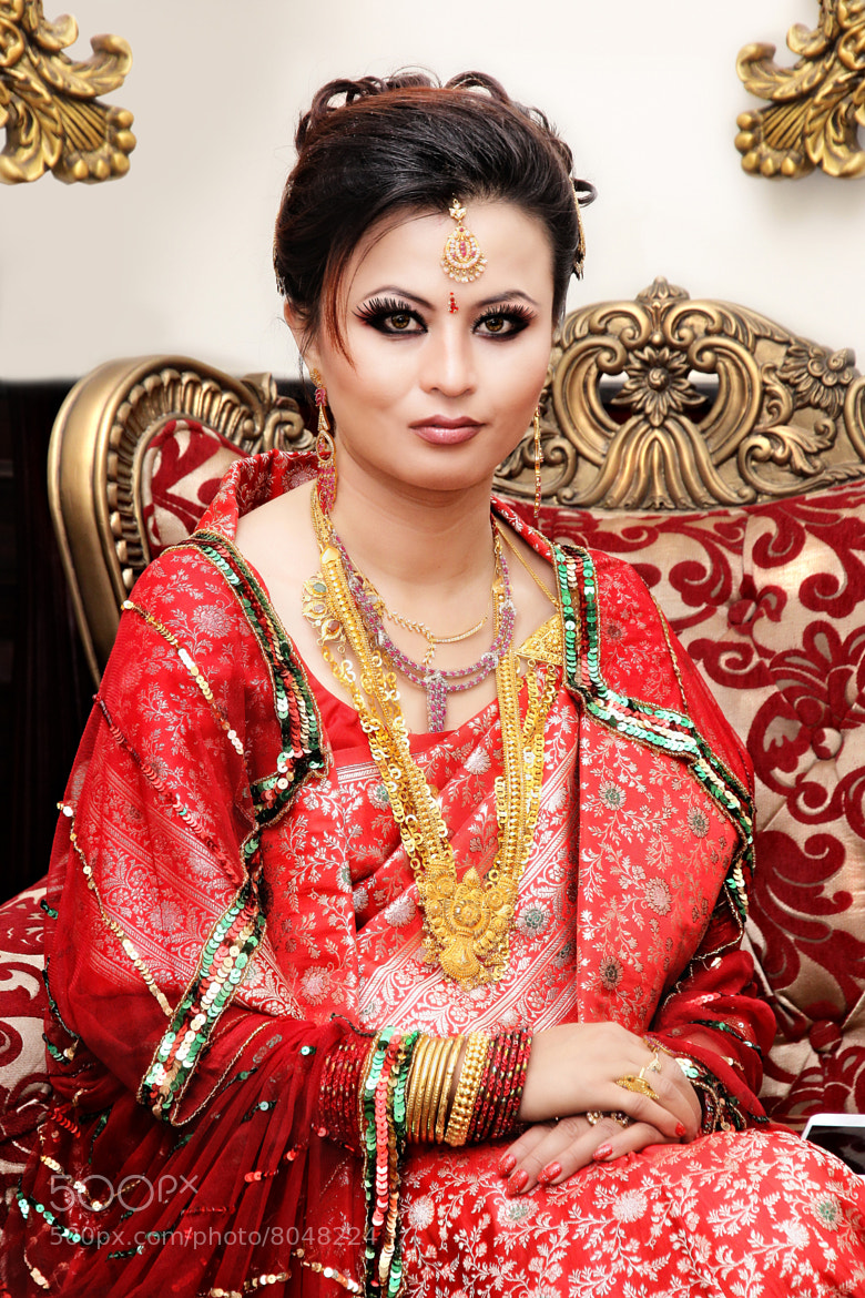 Photograph Nepali bride  by sushan shrestha on 500px