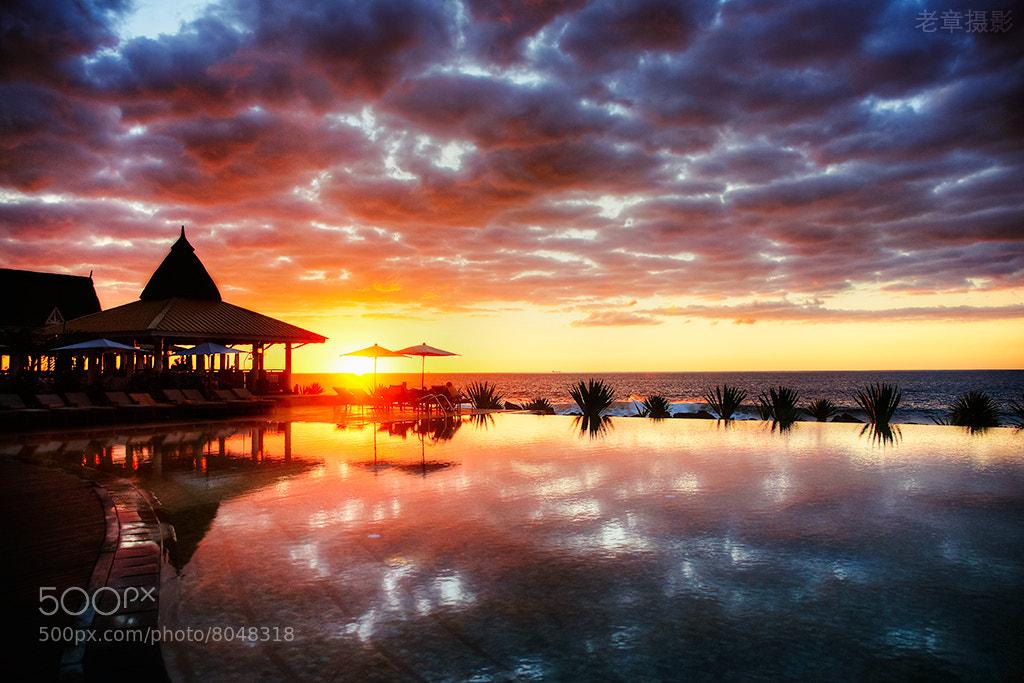 Photograph sunset@Maldives by Michael Zhang on 500px