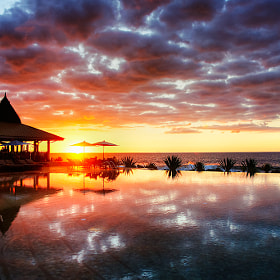 sunset@Maldives by Michael Zhang (mz1717)) on 500px.com