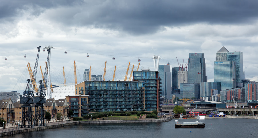 Docklands View, London