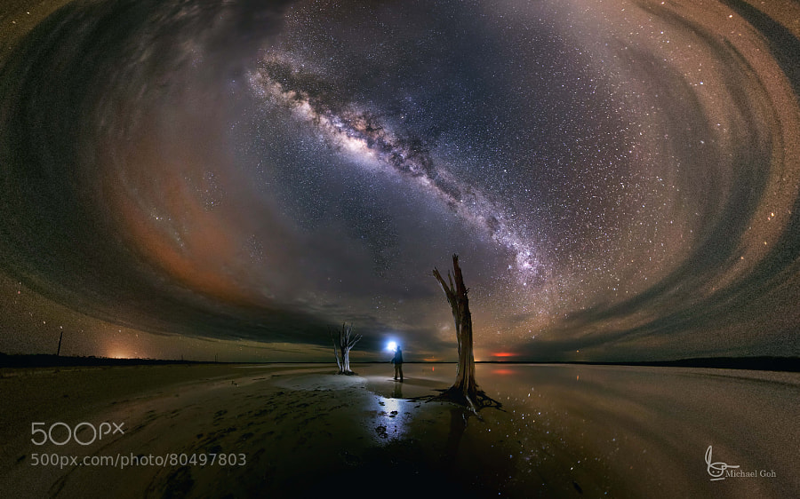 Photograph Lost in the Dark by Michael  Goh on 500px