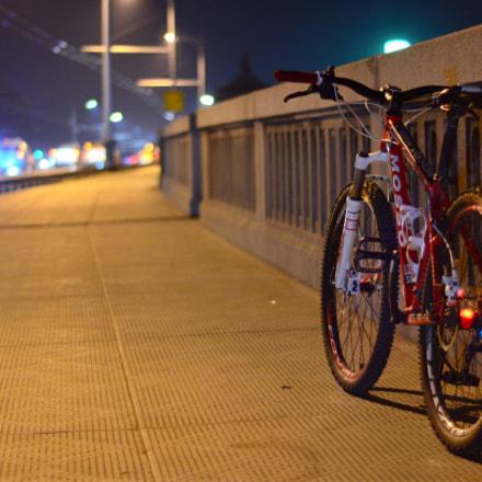 夜骑武汉长江大桥