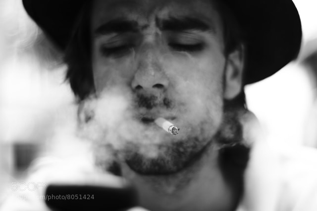 Photograph Smoking kill by Manon Mella on 500px