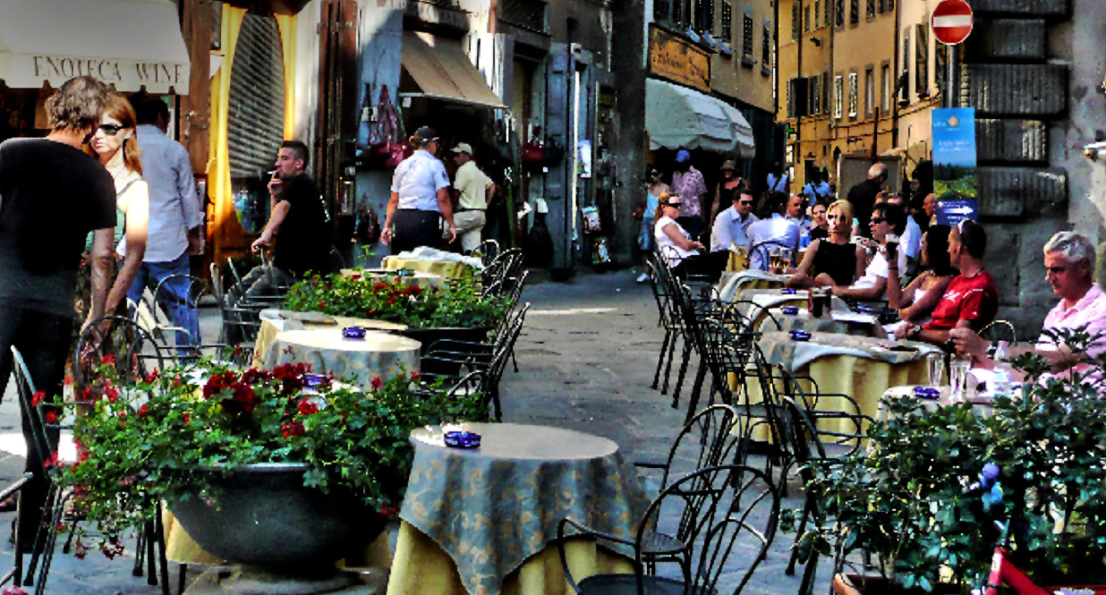 Photograph Under The Tuscan Sun Happy Hour by Mark Luftig on 500px