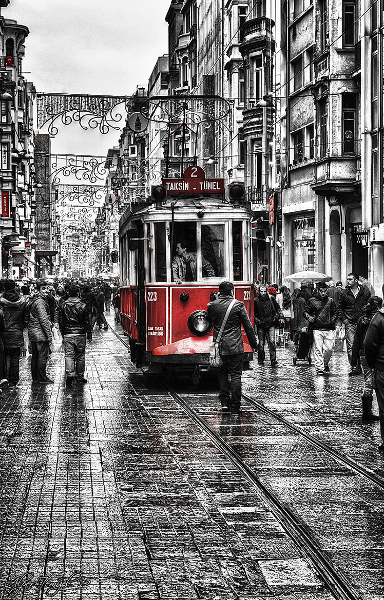 Photograph Istıklal and the Old Tram by Alper  Temizel on 500px
