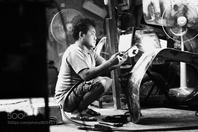 Photograph vespa repair by Apiwat Sudsawat on 500px