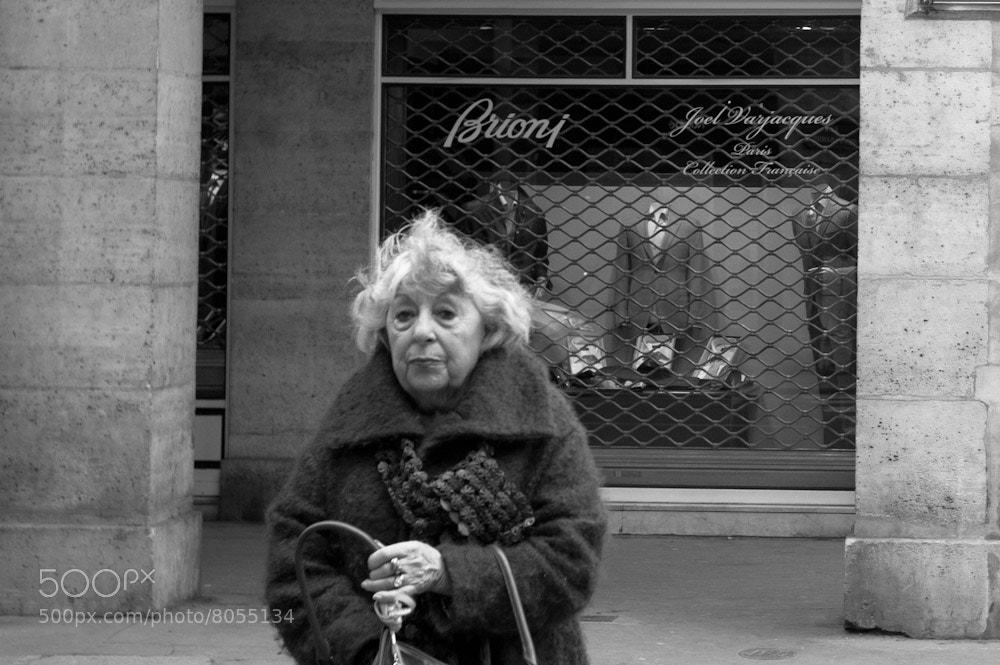 Photograph Mamie méfiante by Geoffrey Arduini on 500px
