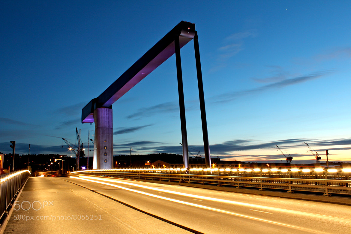 Photograph Purple Bridge by Marius Grøndahl on 500px