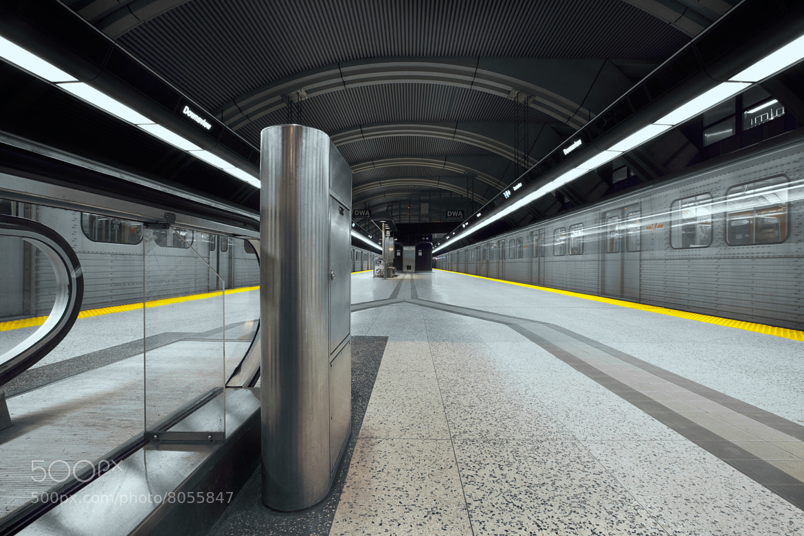 Photograph Downsview subway station by Roland Shainidze on 500px