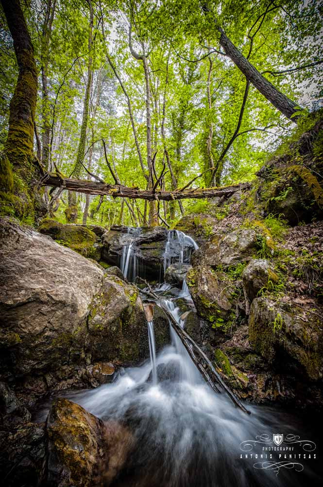 Photograph Small Waterfall by Antonis Panitsas on 500px
