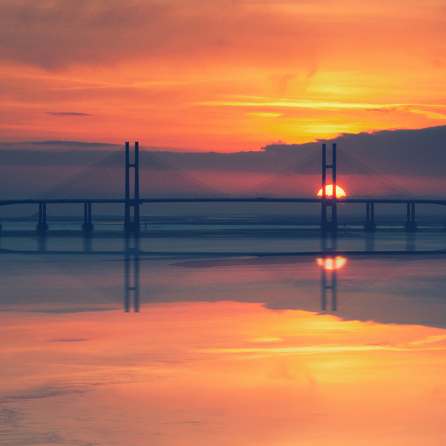 Photograph Second Severn Crossing by Martin Turner on 500px