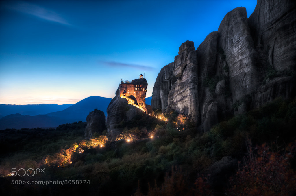 Photograph Twilight Monastery  by Elia Locardi on 500px