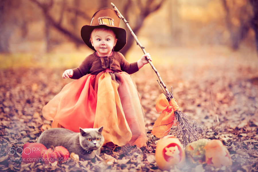 Photograph Little witch by Maria Pavlova on 500px
