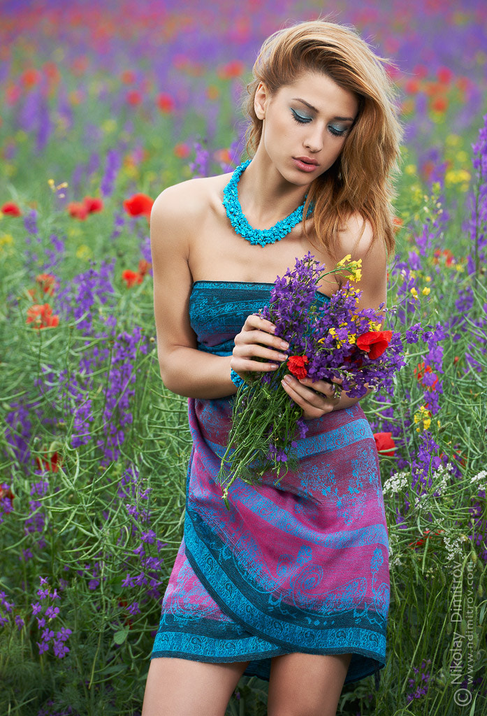 Photograph Fashion and spring flowers by Nikolay St. Dimitrov on 500px