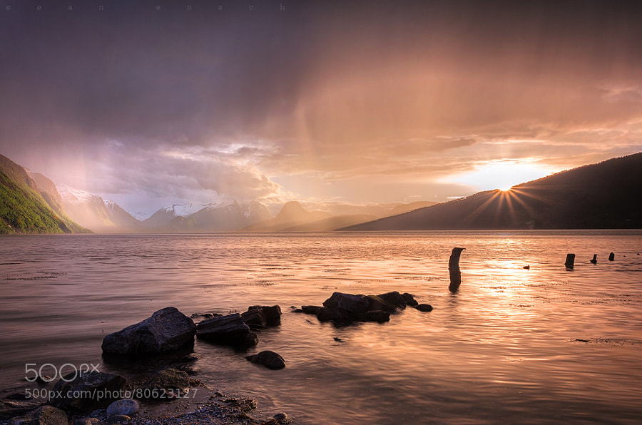Photograph RAIN OVER ROMSDALSFJORD by Sean Ensch on 500px