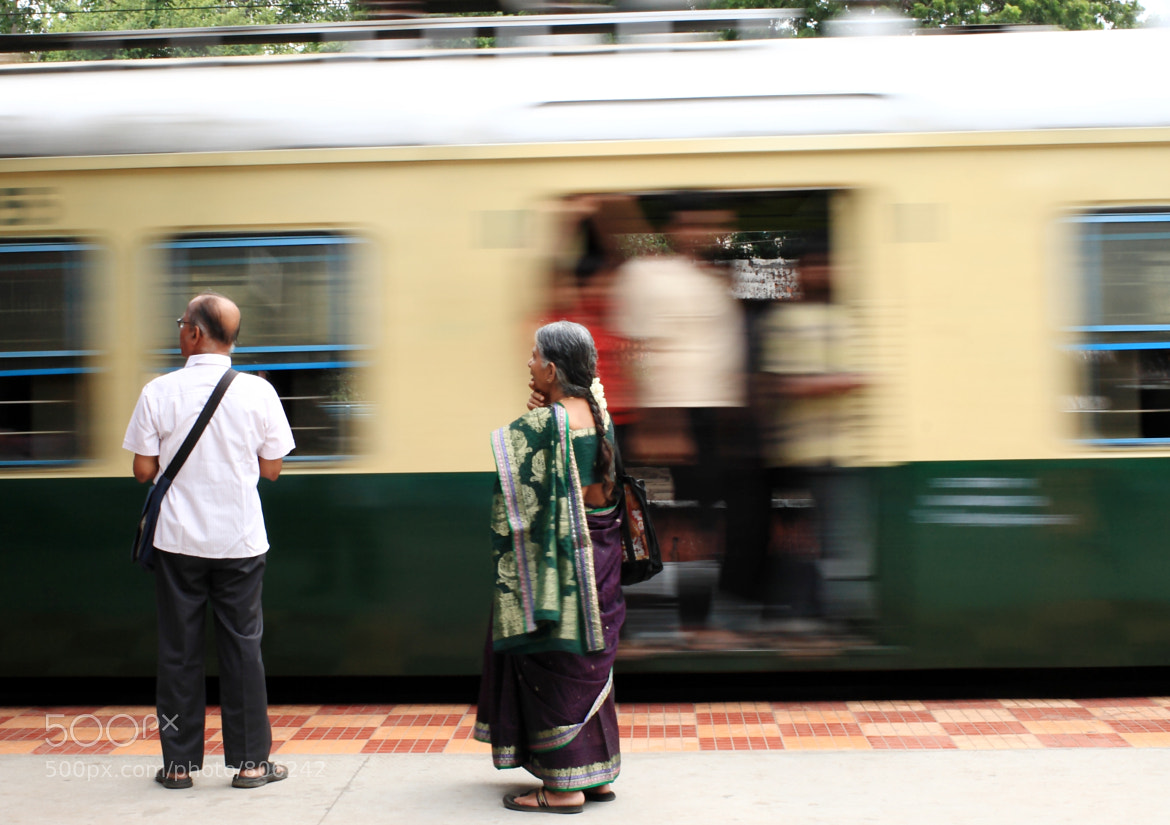 Photograph Train and Passengers by Jay Rajamanickam on 500px