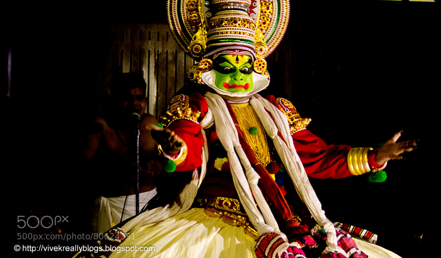 Photograph The Kathakali Dancer by Vivek Pandey on 500px