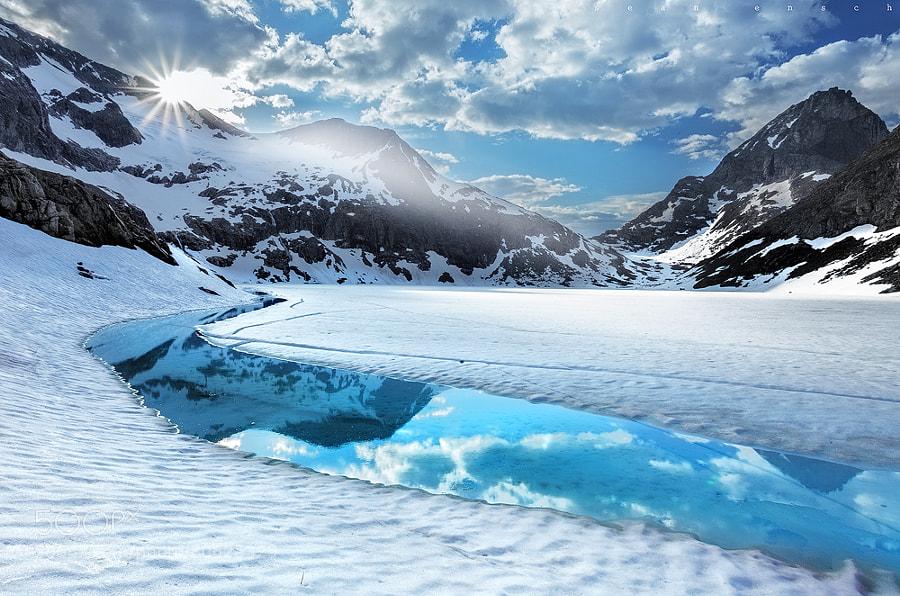Photograph Frozen Light by Sean Ensch on 500px
