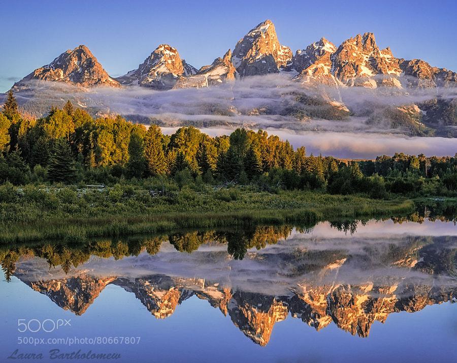 Teton Mist by Laura Bartholomew
