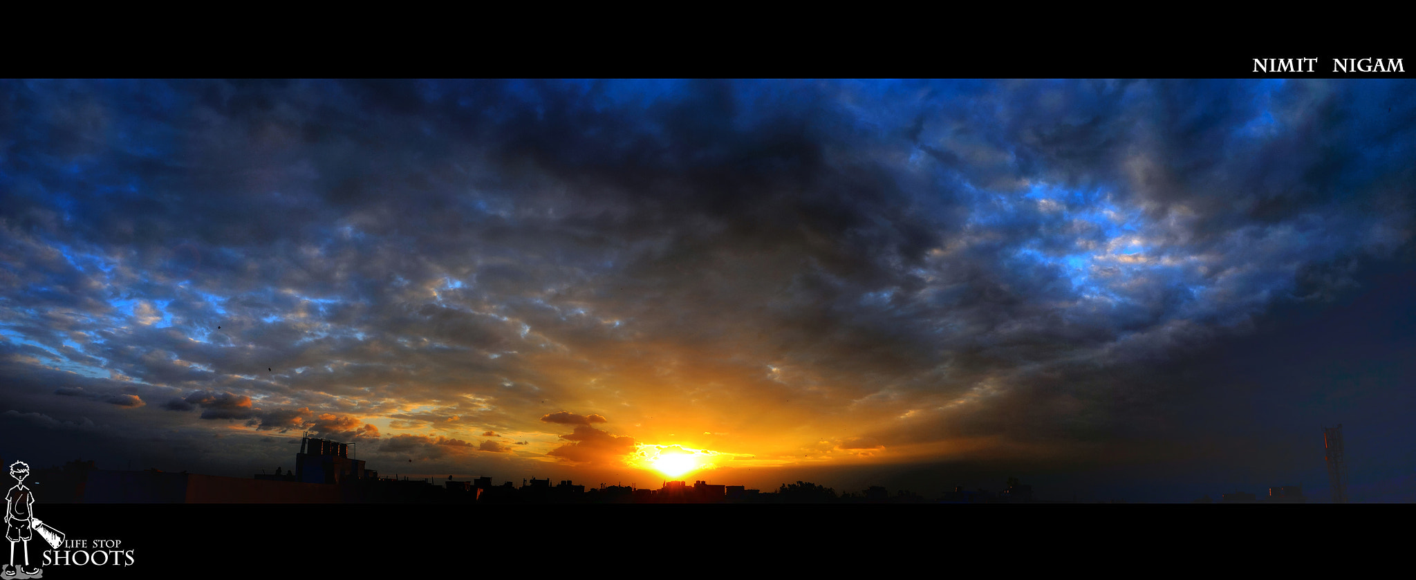 Photograph 09 August 2011 Eve. Panorama.... by Nimit Nigam on 500px