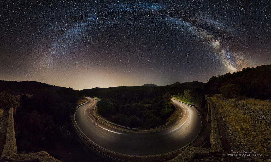 Photograph Starry road by Ivan Pedretti  on 500px