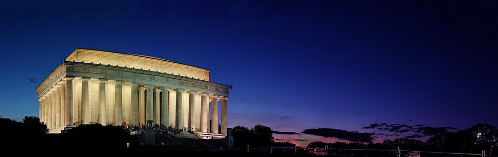 Photograph Lincoln Memorial at Sunset by Metro DC Photography on 500px