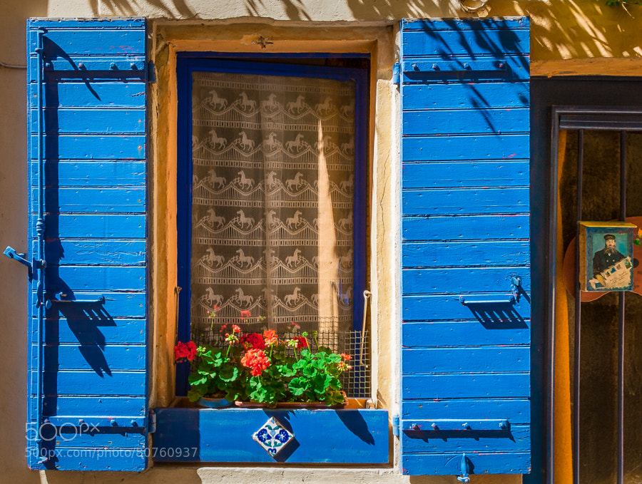 Photograph Arles - Flower Box & Blue Shutters by Pat Kofahl on 500px