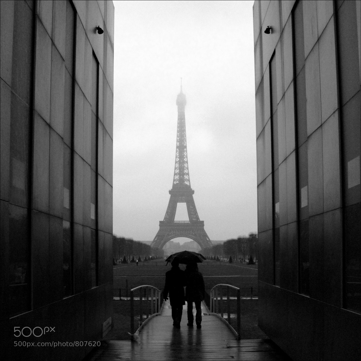 Photograph Wall for Peace ~ Tour Eiffel ~  Paris ~ MjYj by Iam J on 500px