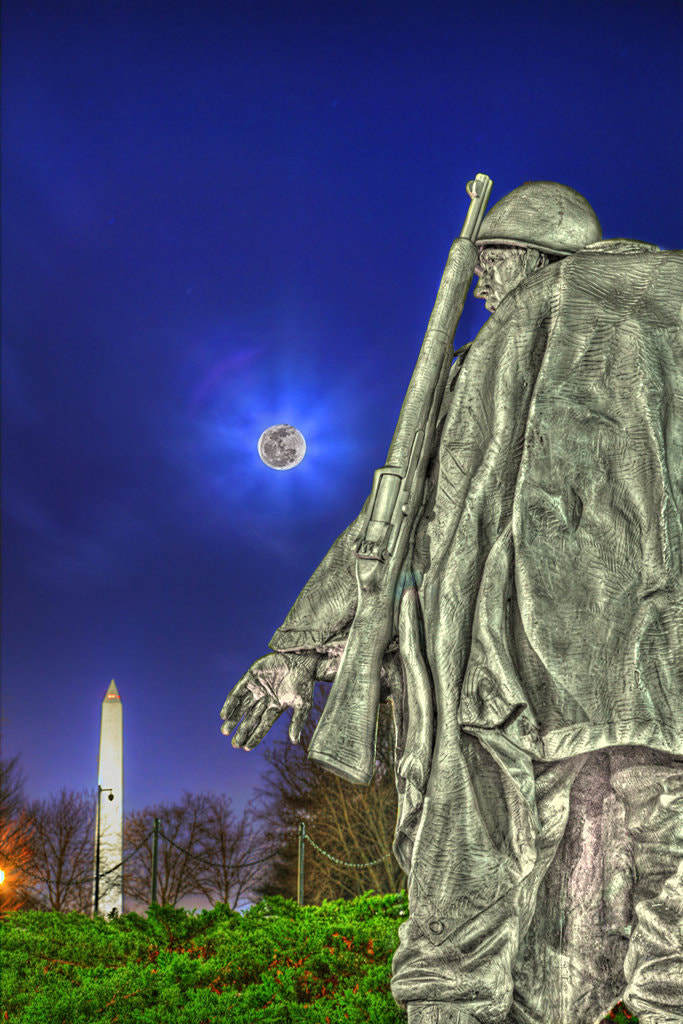 Photograph Korean War Memorial Part I by Metro DC Photography on 500px