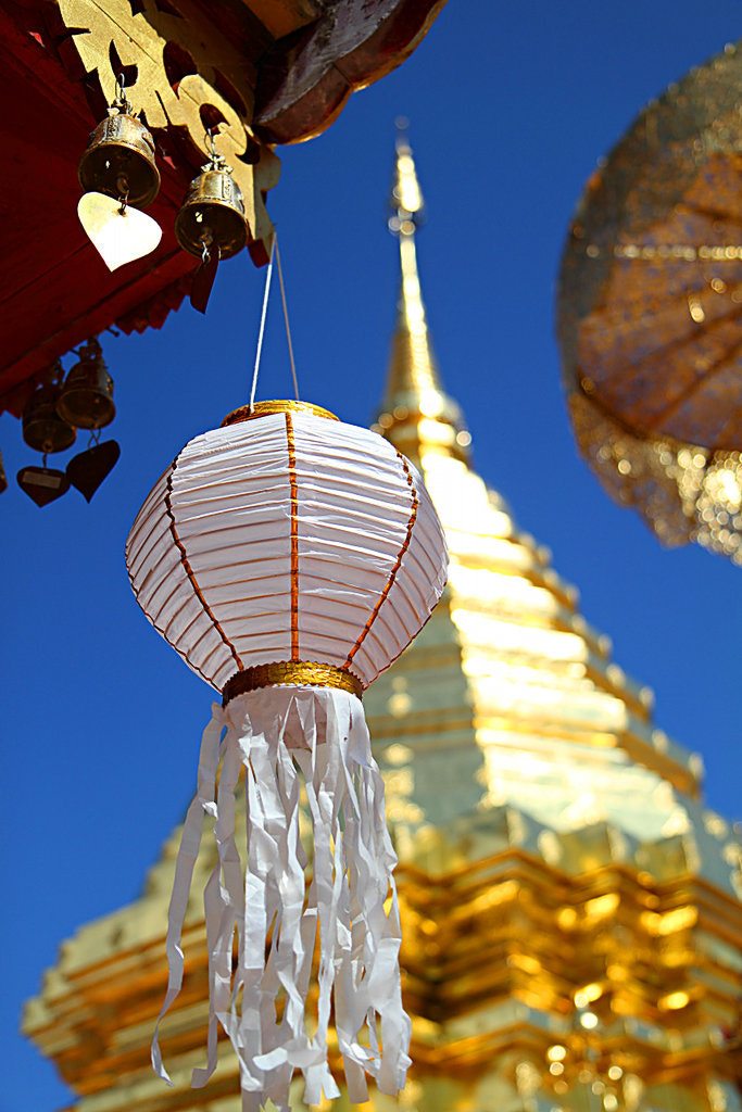 Photograph Chinese Lantern at Wat Phrathat Doi Suthep by Metro DC Photography on 500px