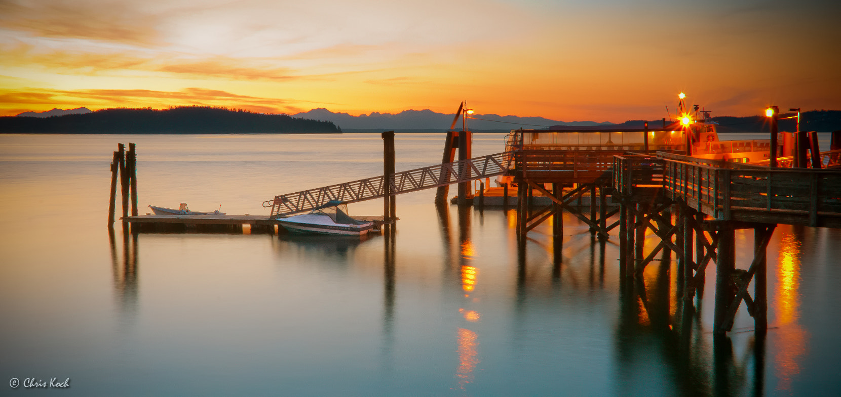Photograph Steilacoom Ferry Terminal preparing for bed. by Chris Koch on 500px