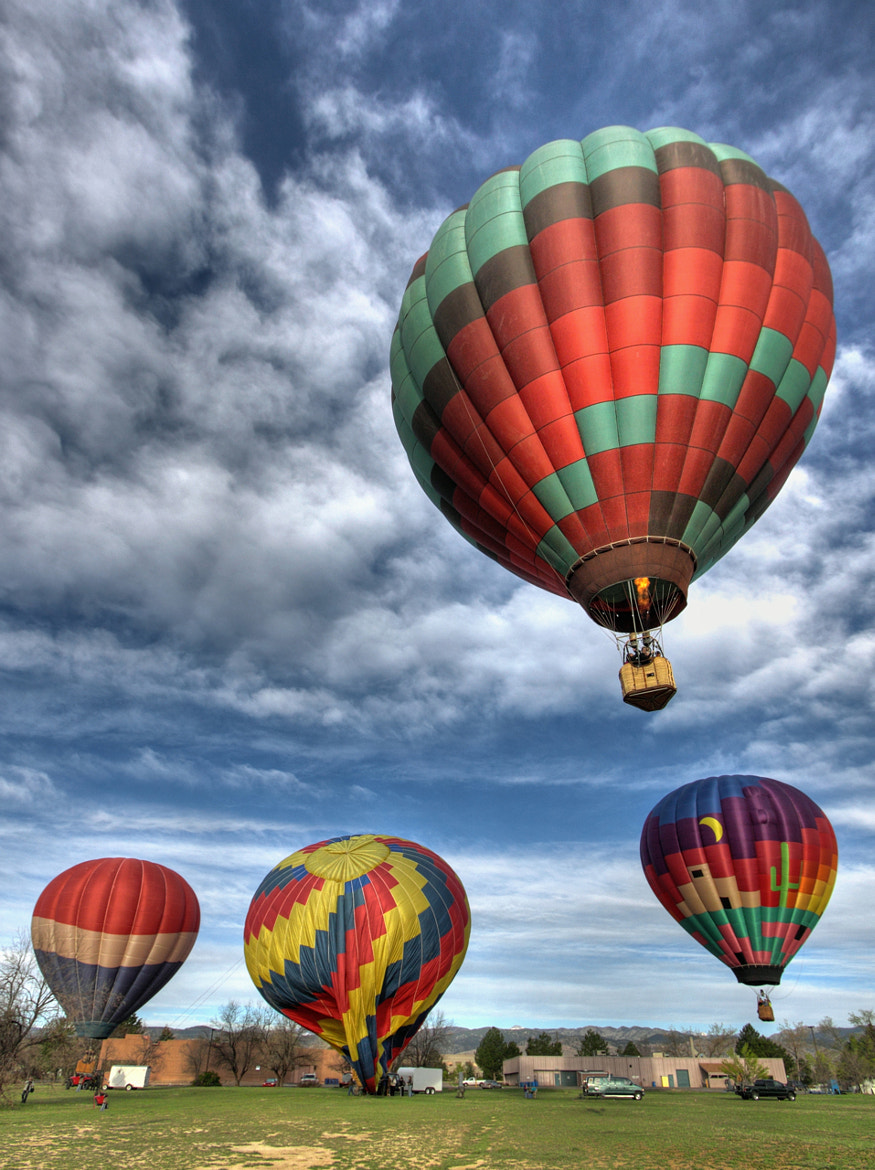 Photograph 2012 Hot Air Balloon 033 by Greg Thow on 500px