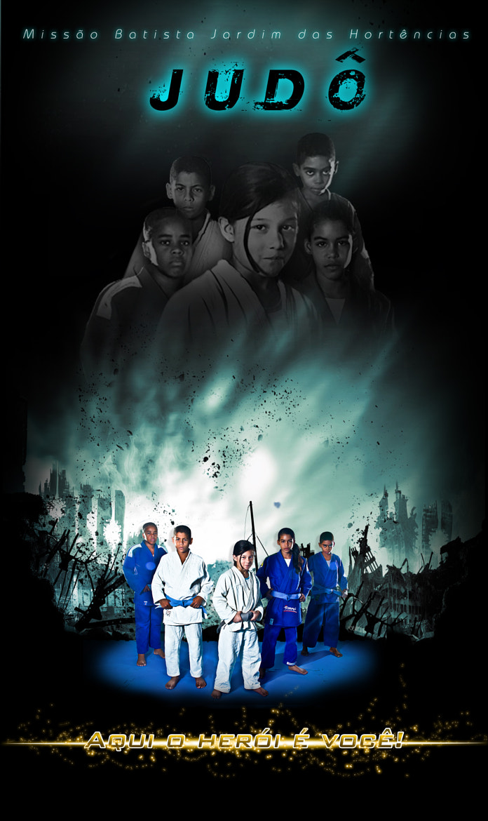 Photograph JUDO BANNER by Paulinho Rodrigues on 500px